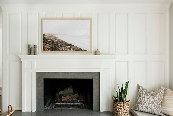 Cozy California Home designed by Graham Hill Design and shot by Madeline Harper Photography.