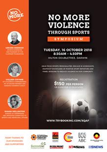 NO MORE Violence Through Sports Symposium