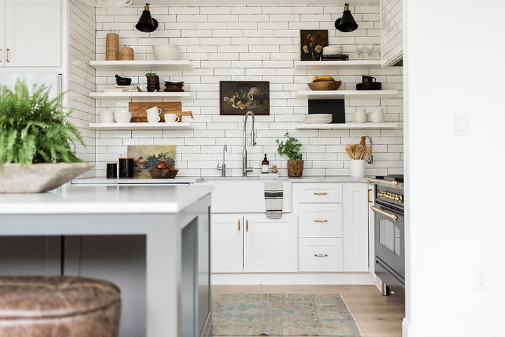 This home is designed + styled by The Identité Collective and shot by Madeline Harper Photography.