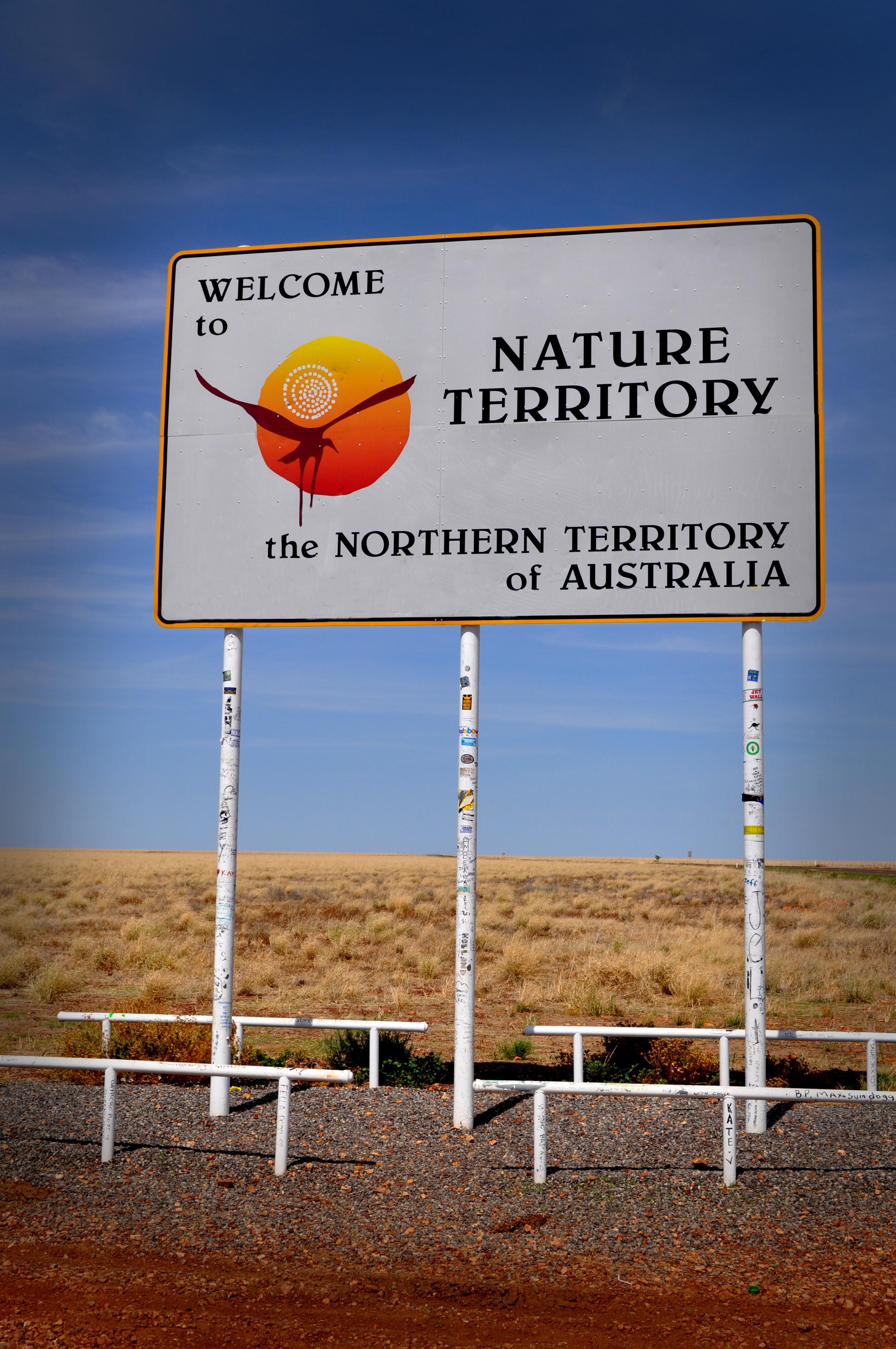 NT Border Sign