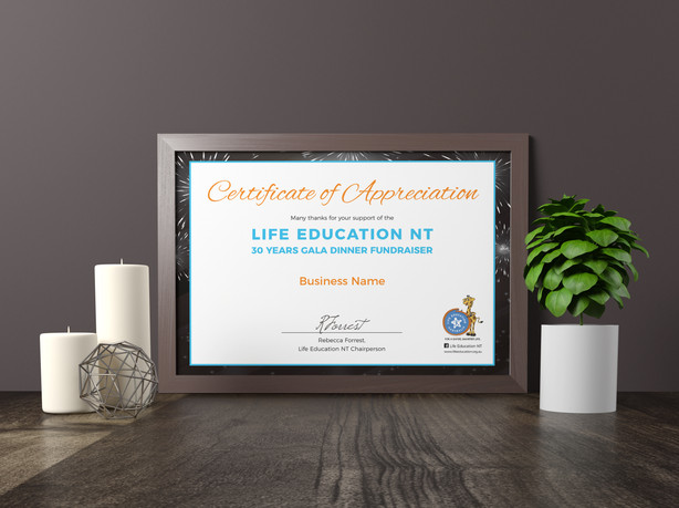 Life Education Gala Event