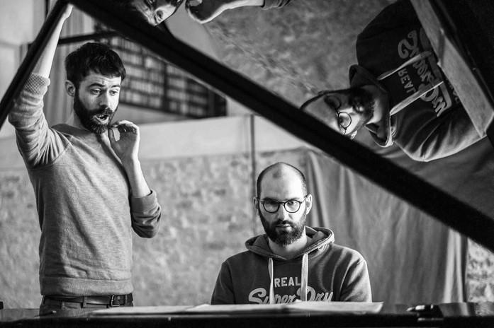 Duo Royez Deleuil en répétition
