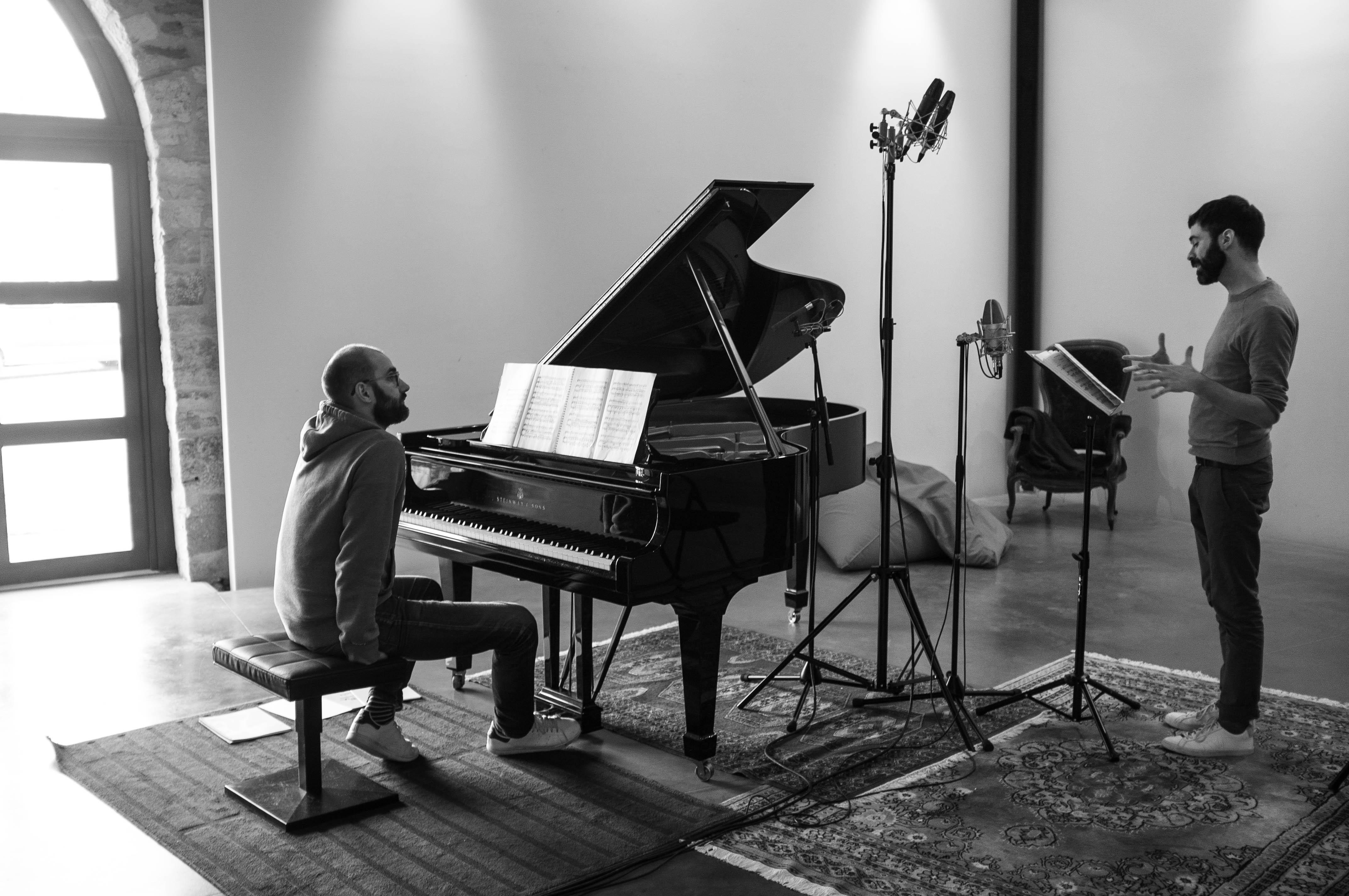 Session d'enregistrement