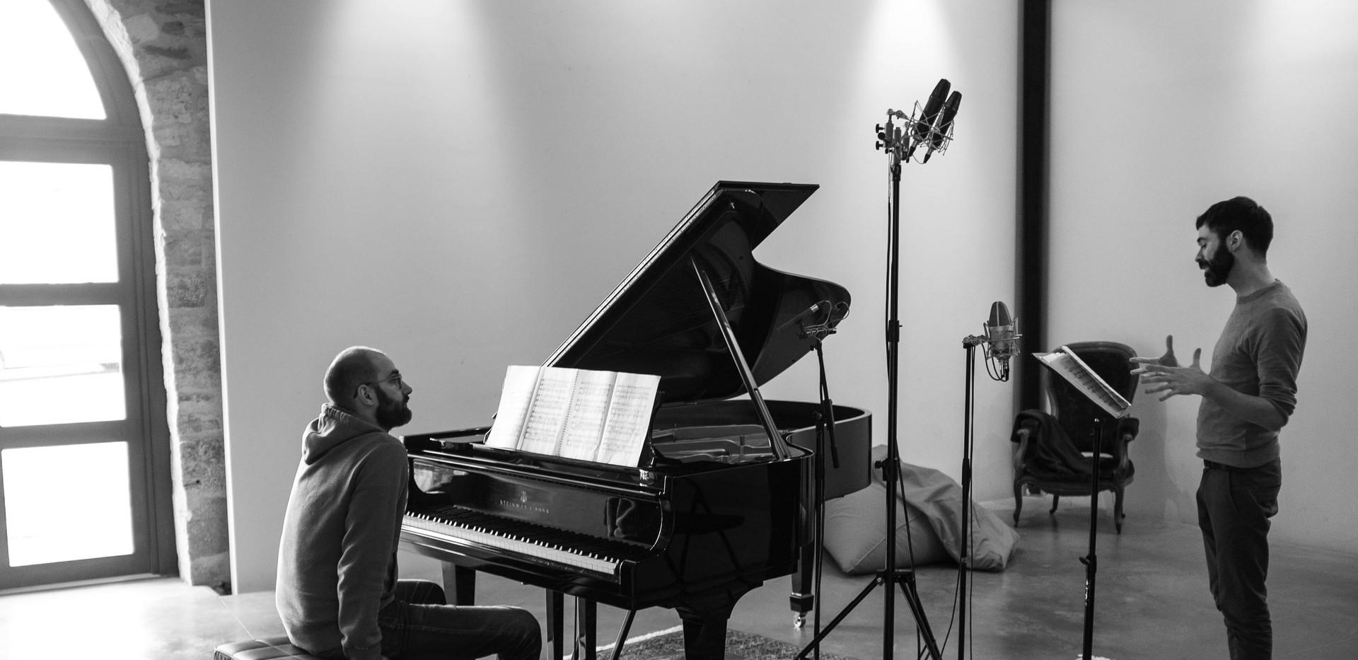 Sessions d'enregistrement