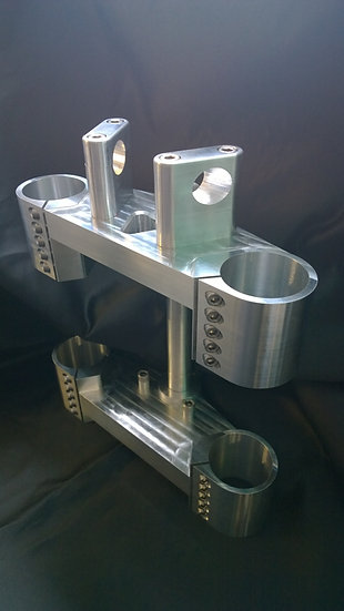 Harley XR1200 Billet Yokes, Triple Trees