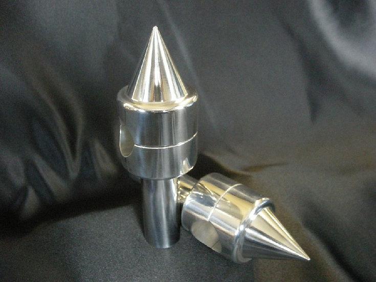 Custom Risers - Hidden Bolt - Spiked Top - 75mm