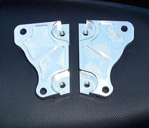 Vmax Blue Spot Front Brake Caliper Hangers