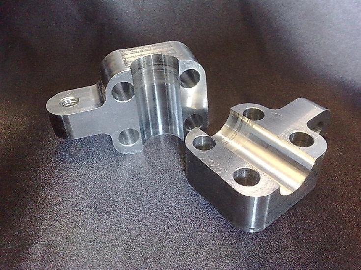 Triumph Axle Clamps / Fork End Caps