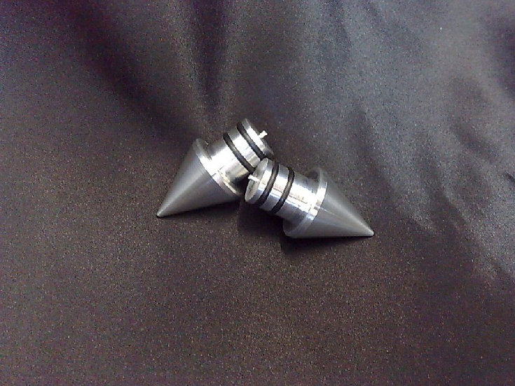 Spiked Bar Ends - for 1 inch bars