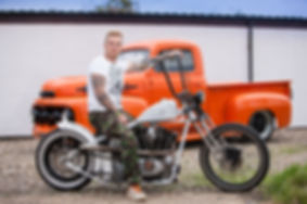 Custom Bobber / Custom Chopper / Custom Motorcycle