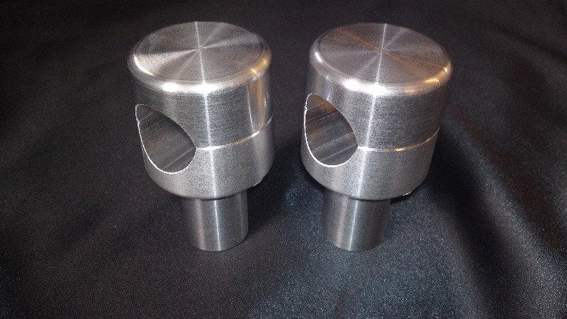 Custom Risers - Hidden Bolt - Flat Top - 50mm