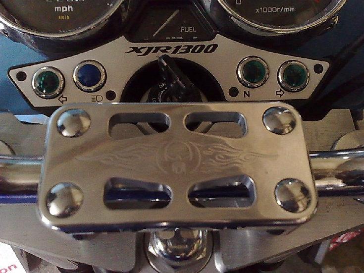 Yamaha XJR Billet Handlebar Clamp