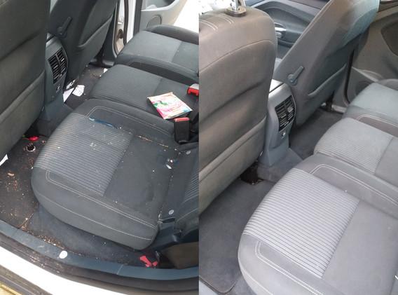 Interior valet on a family car