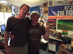 Drew Ross and Mr. Bill