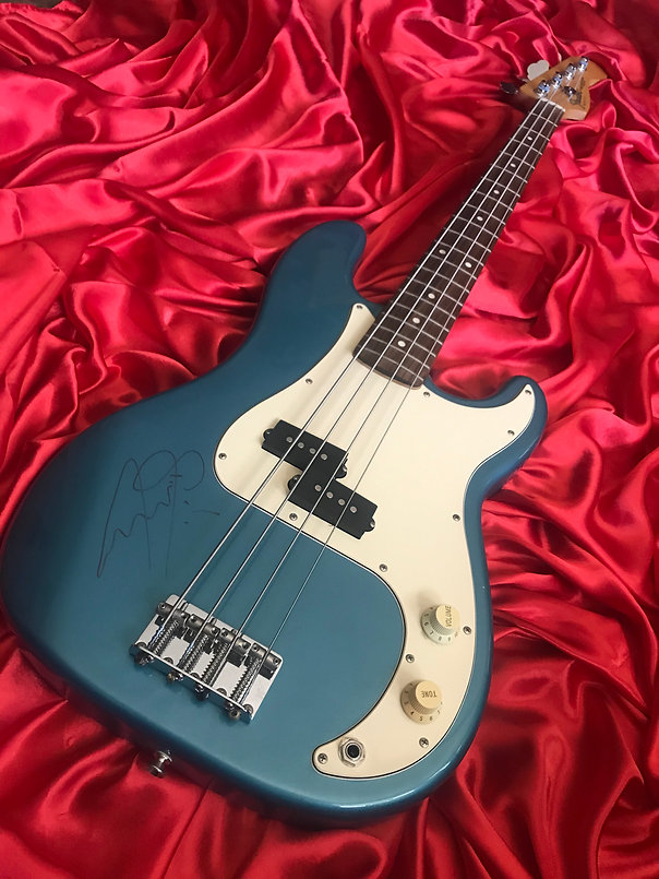 Fender P Bass Signed By Sting