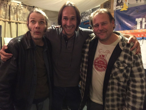 Malcolm Holcombe, Hal Abrams, Vincent Bernardy