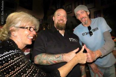 Carole Truesdale, Barber Jon, Dead Air Dave