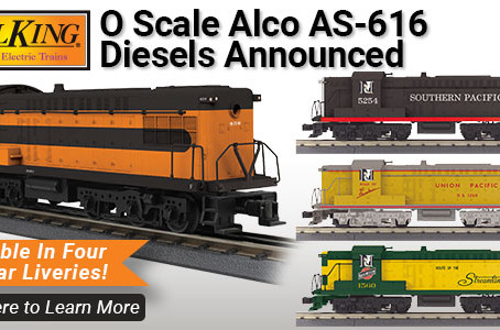 M.T.H. Electric Trains will be releasing several limited-edition releases of the RK AS-616 Diesel.
