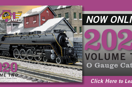 New MTH 20 V2 O-Gauge Catalog &  Price Sheet Now On-Line
