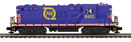 Custom Run Uncataloged Florida East Coast Premier Line O Scale GP-9 Place your Order Now