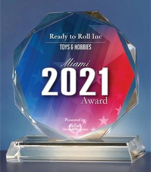 2021 Miami Awards Winner for Toys & Hobbies