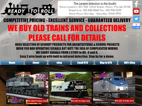 New Ready to Roll Trains Website