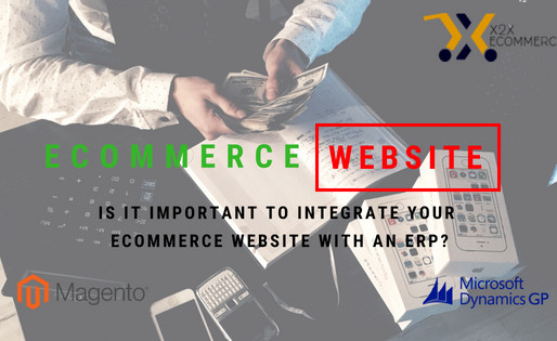 Why is it important to integrate your eCommerce website with an ERP?