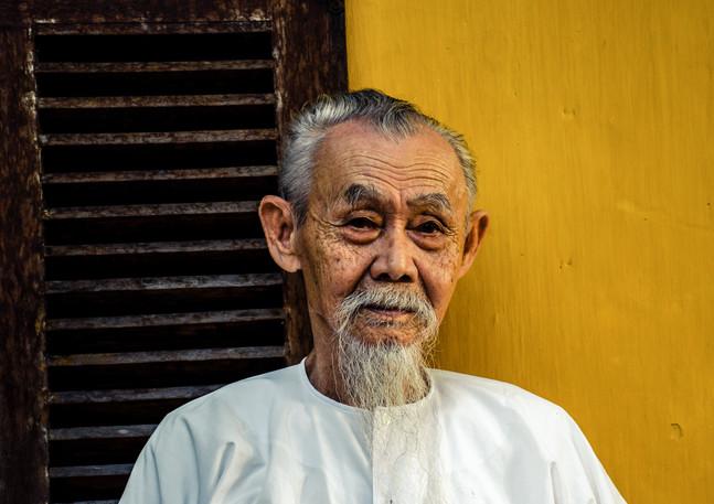 Old Man - Hoi An - Vietnam