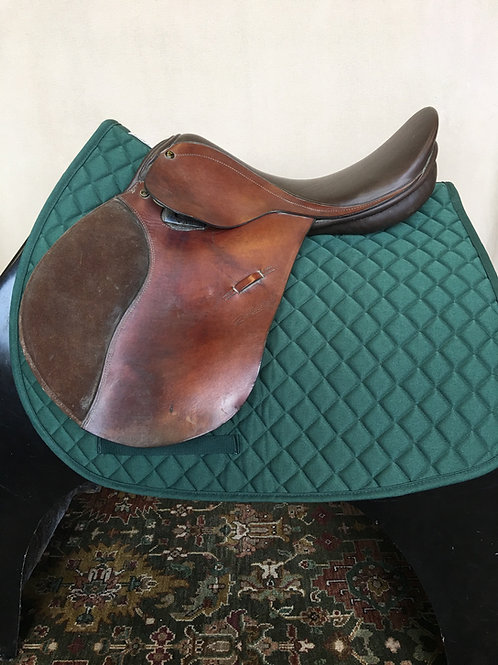 "Zaldi 16"" Jumping Saddle"