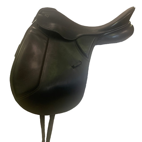 "Keiffer Lech Profi 17 .5"" Dressage Saddle"