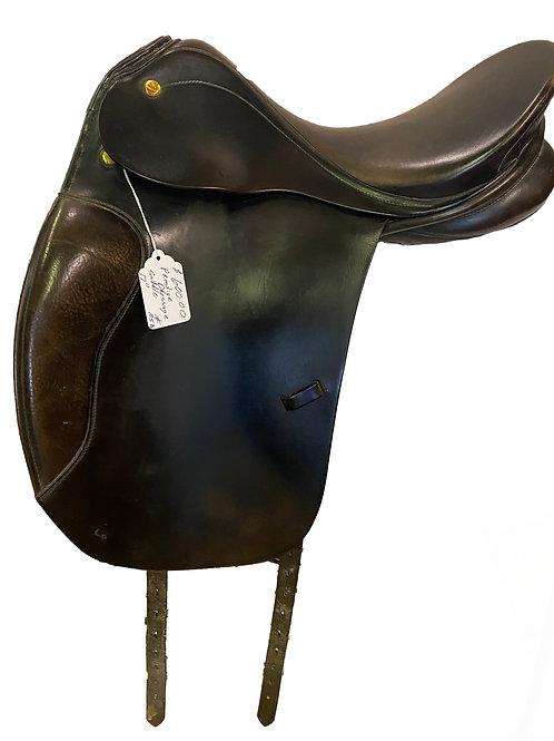 """Prestige 17"""" Dressage Saddle"""