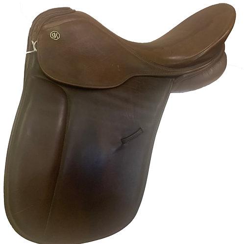 "Keiffer 17"" Munchen Dressage Saddle"
