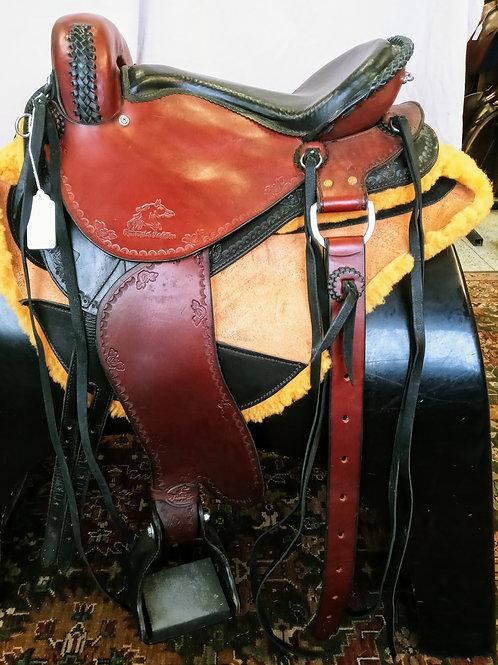 "Synergist 15"" Endurance Trail saddle"