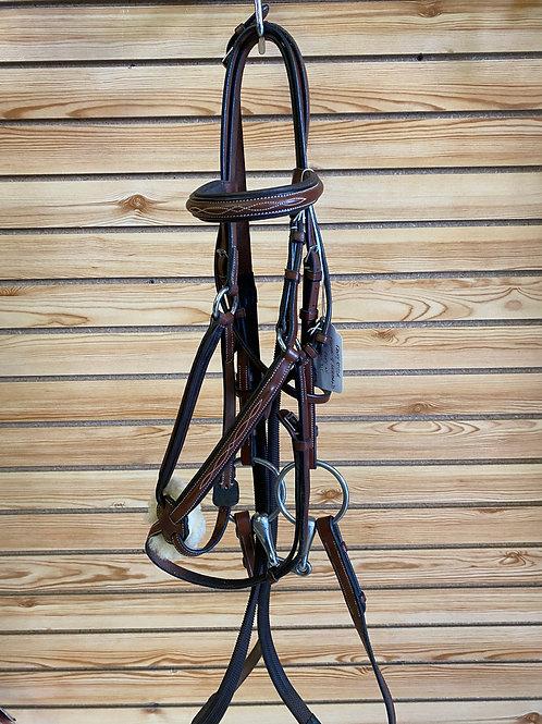 Fancy Stitched Pony Bridle