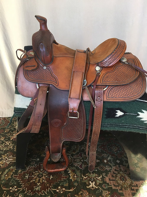 Hereford by Tex Tan Ranch Saddle