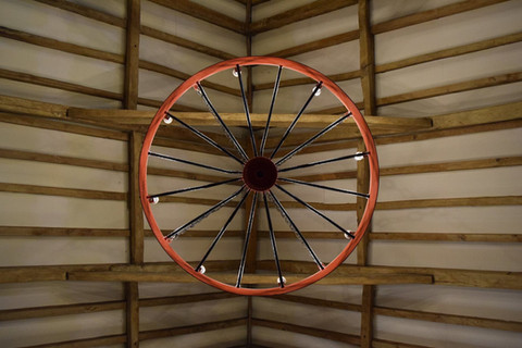 Cart wheel lights