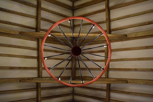 Cart wheel lights