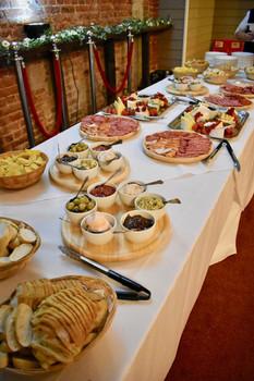 Evening sharing platters
