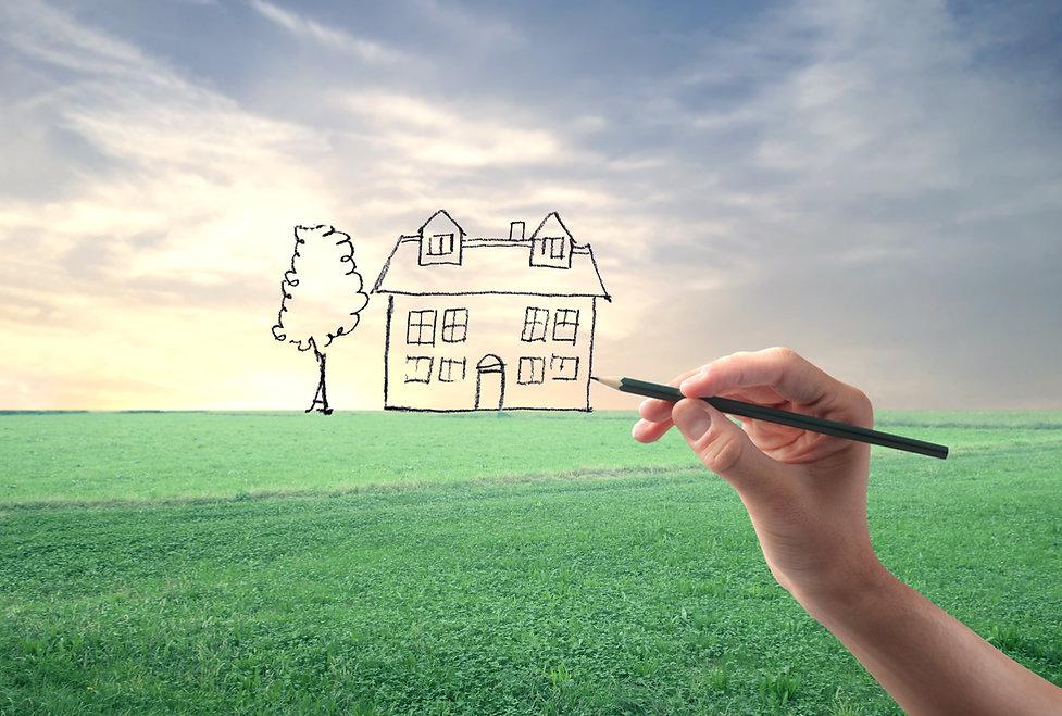 Traum von einem Hausbau