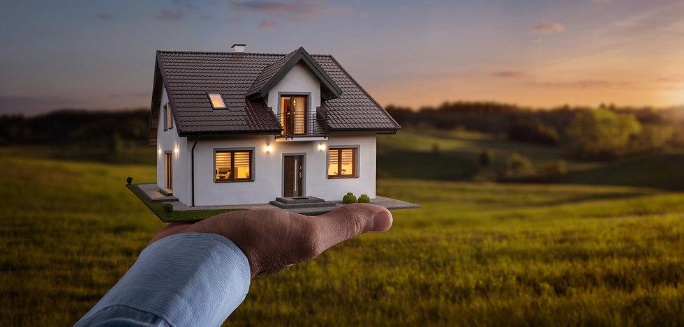 Modell von einem Traumhaus