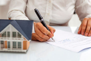 Finanzierungsantrag / Darlehensantrag unterzeichnen