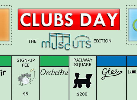 Meet us at Clubs Day!