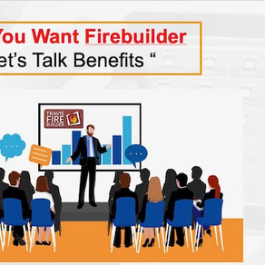 Firebuilder Part 1 ..A Sales Tool for Today's Customer In a Post-Corona World