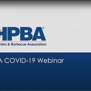 HPBA COVID-19  Webinar                  March 31st