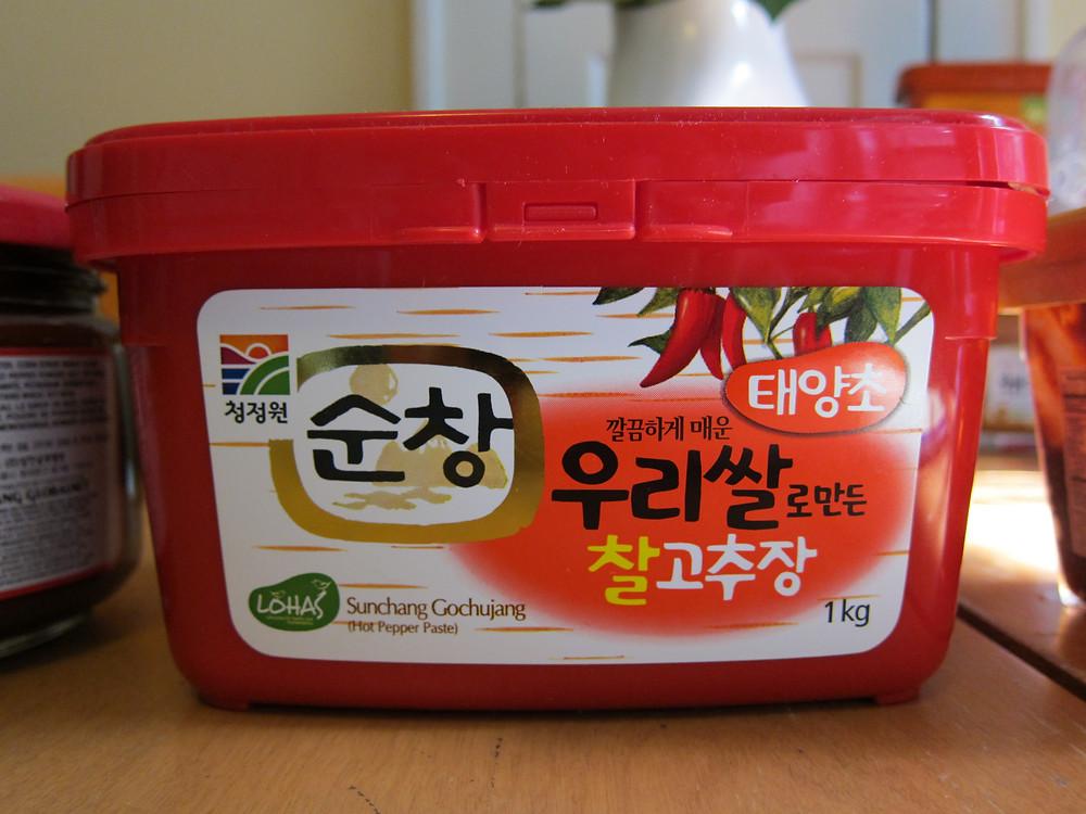 Gochujang (fermenterad chili)