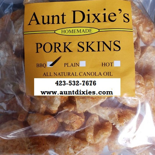 Aunt Dixie's Pork Skins