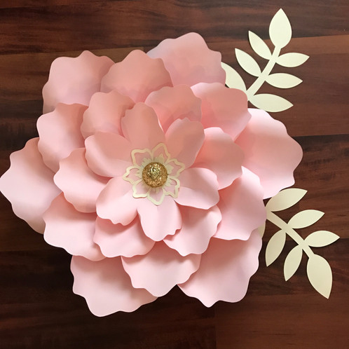 Svg petal 21 paper flower template with base cutting machines such svg petal 21 paper flower template with base cutting machines such as cricut mightylinksfo
