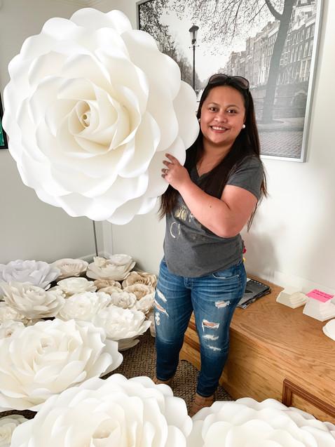 """34"""" Full Size Rose 6"""