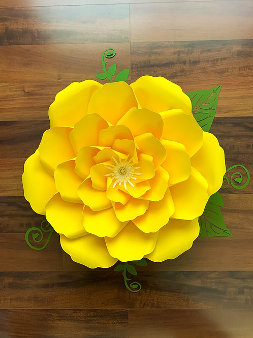 PDF Petal 27 Printable Paper Flowers Templates 3d and DIY Paper flowers