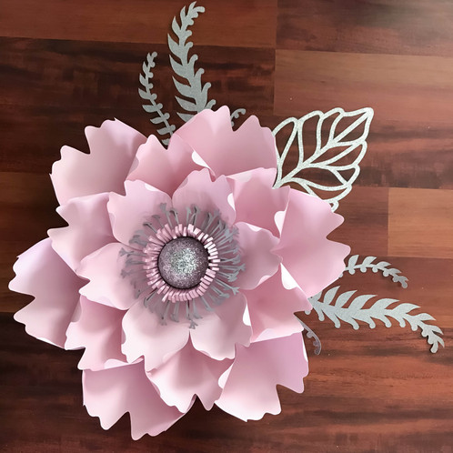 Svg petal 13 paper flower template digital file for cutting machines a file to use in cutting machines such as cricut and silhouette cameo this is not the file for trace and cut purposes this listing is for flower mightylinksfo